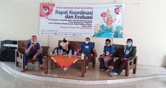 Rakor dan Evaluasi Pilkada, Nuris Septa: Angka Partisipasi Kota Metro Melebihi Target Nasional