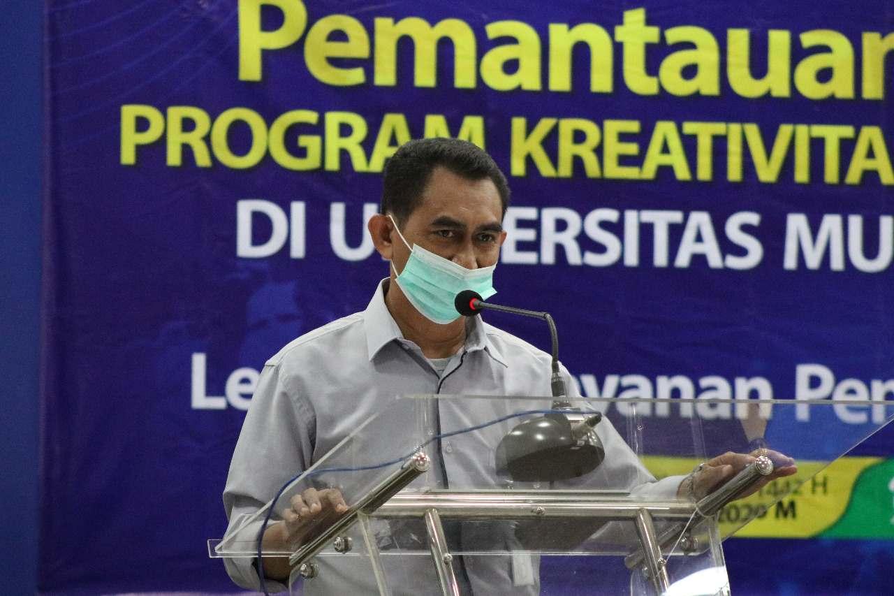 Sekretaris LLDIKTI Wilayah II Pantau Pelaksanaan PKM 5 Bidang UM Metro